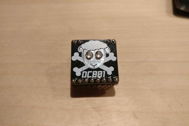 DC801 Minibadge badgelife addon