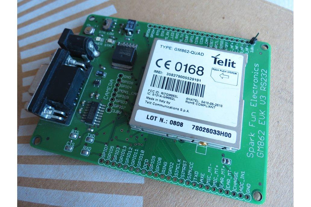 Telit GM862-QUAD GSMGPRS rs232 uart IP TCP HTTP AT 1