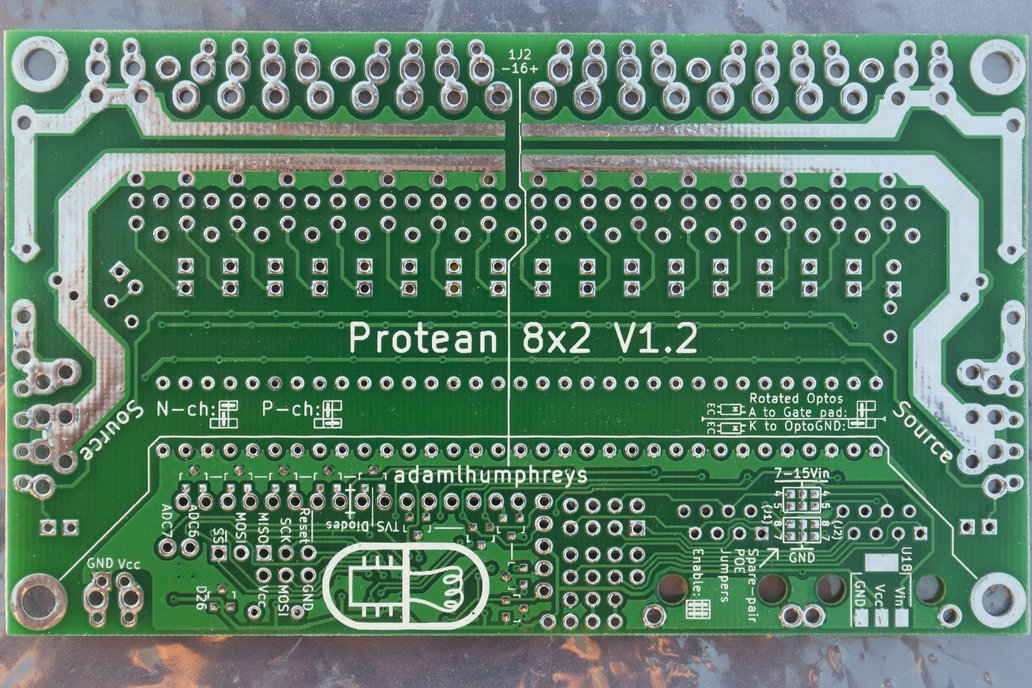 Protean 8x2 V1.2: 16-Ch FET Power Control w/ RS485 4