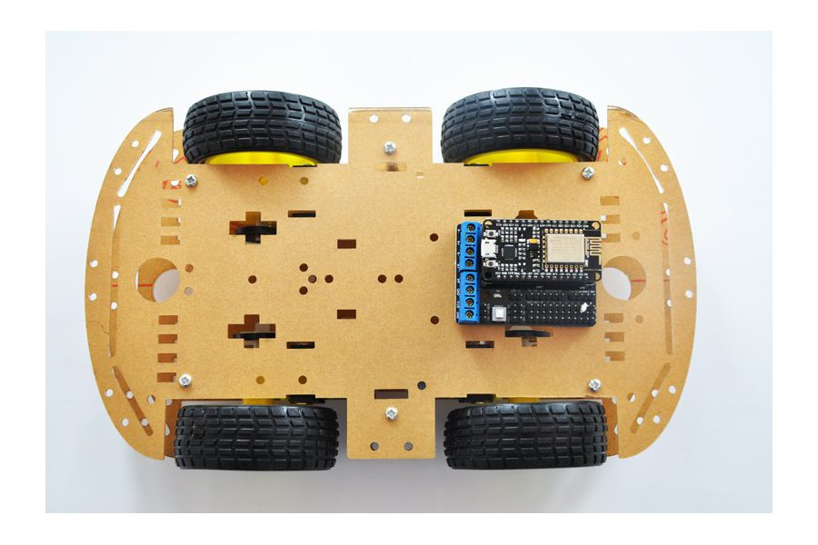 ESP8266 Wireless WiFi 4WD RC Smart Car