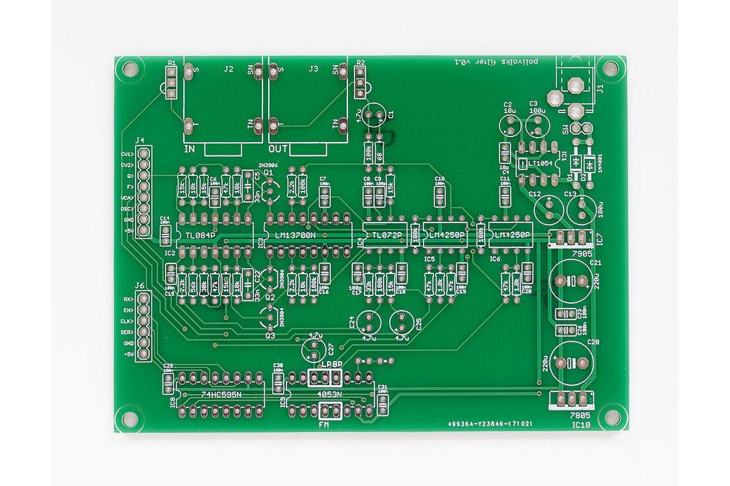 Shruthi Polivoks Filter PCB 1