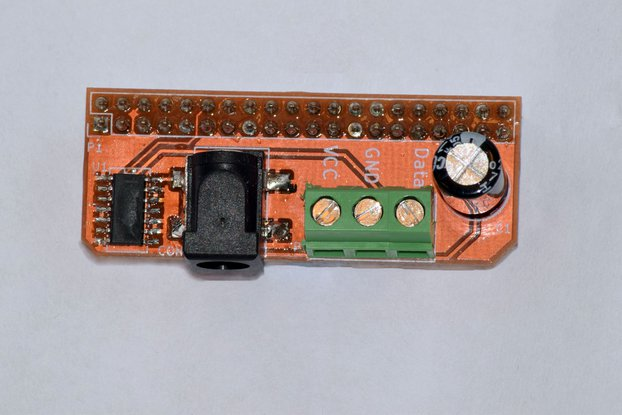 Raspberry Pi Voltage shifter for WS2812 Neopixels