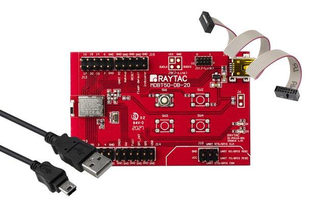 nRF52820 Module (18GPIO) EvKit Board BT5.2 MDBT50