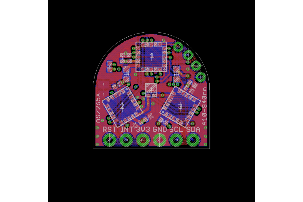 Compact AS7265X Spectrometer 4