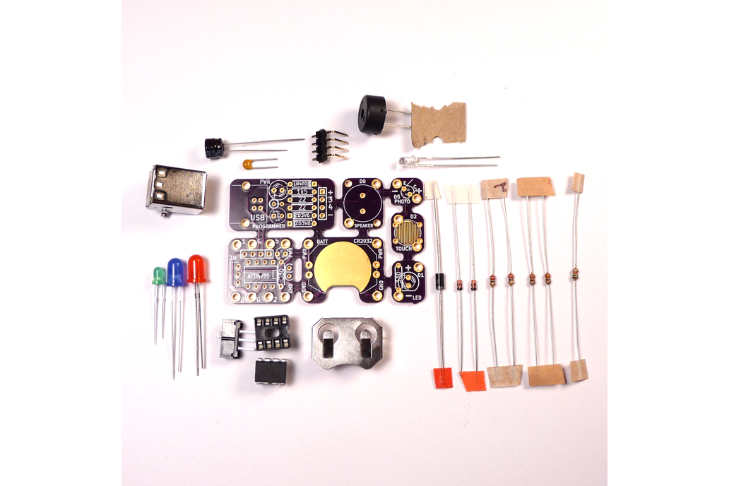 Tacuino: a low-cost, Arduino-compatible kit 2