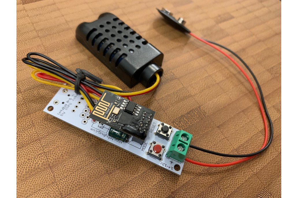 WIFI Low Power Temperature and Humidity logger s2 1