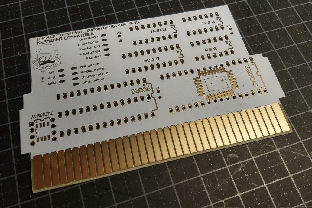 NESMaker Compatible NES PCB 1
