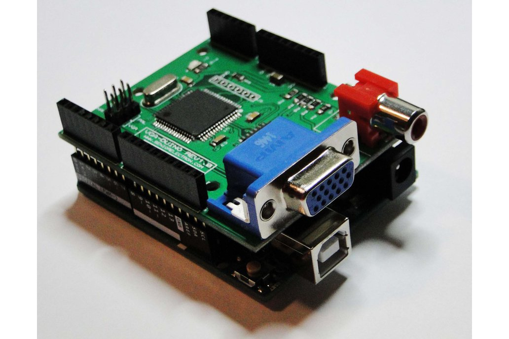 VGA DUINO - VGA Graphic Shield for Arduino 2