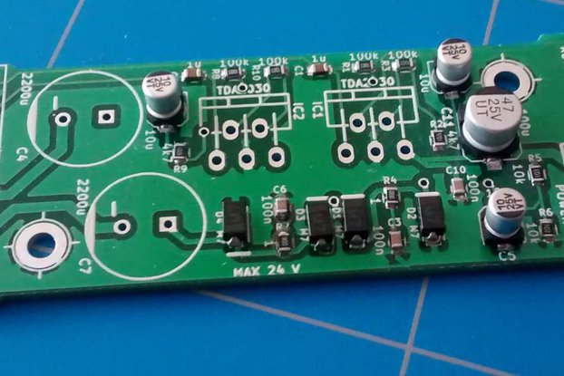 2 x 14 Watt DIY Audio Amplifier