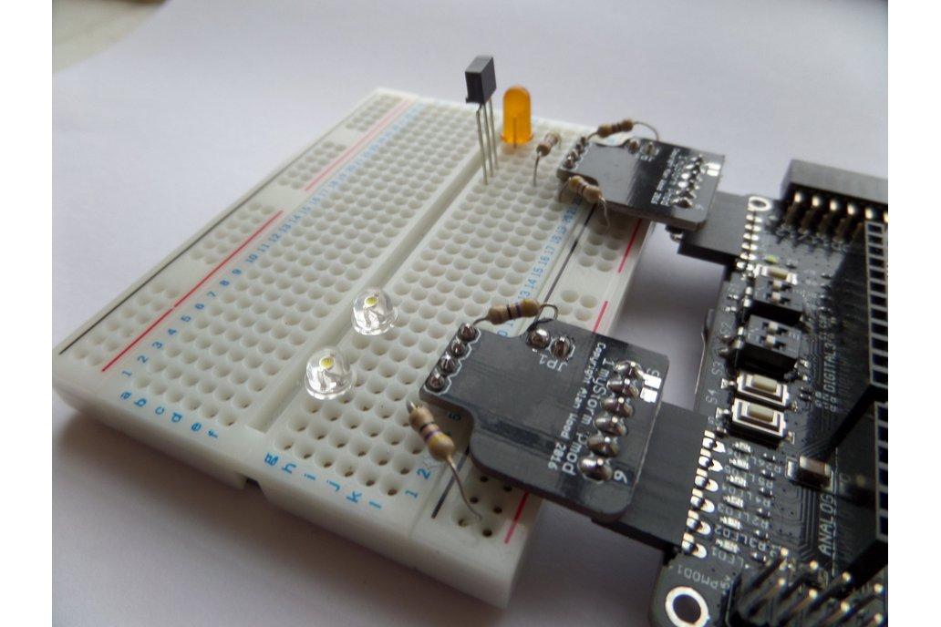 The myStorm Hackers PMOD Kit