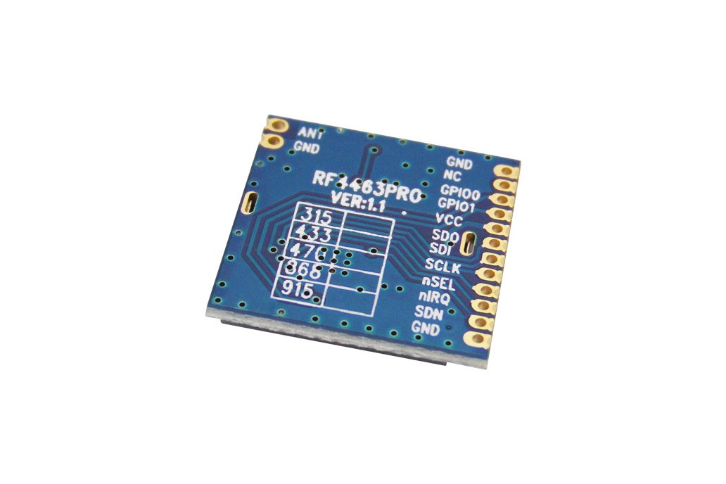 RF4463Rro  +20 dBm Wireless transceiver module 3