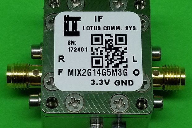 MIXER 2GHz to 14GHz RF and 4.5M - 3G IF (LTC5548)