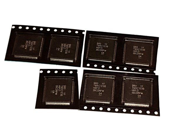 TM4C123BH6PZI TI MCU (7 pieces)