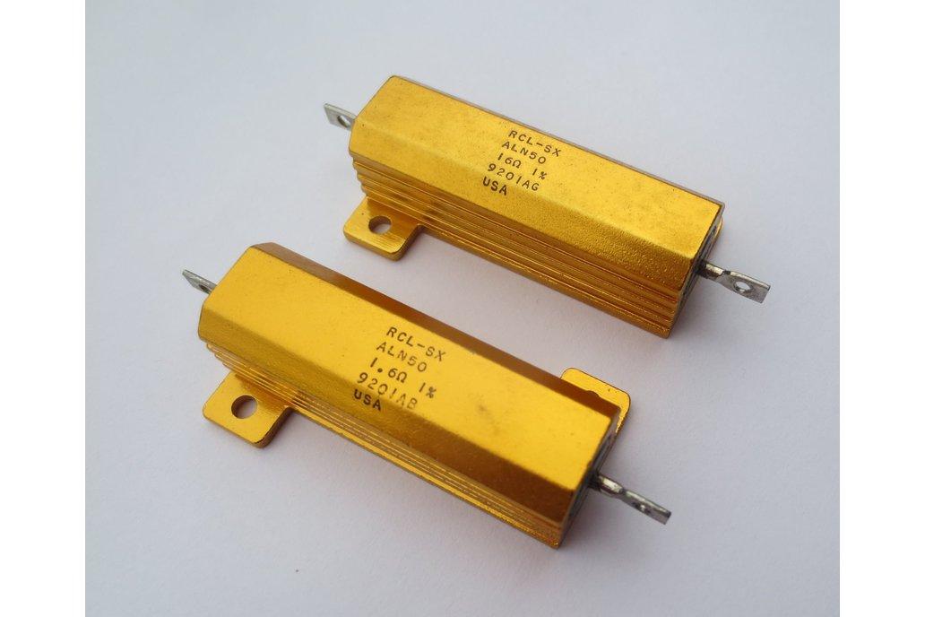 Precision 50W Resistor/Shunt 1% [16Ω or 1.6Ω] 1
