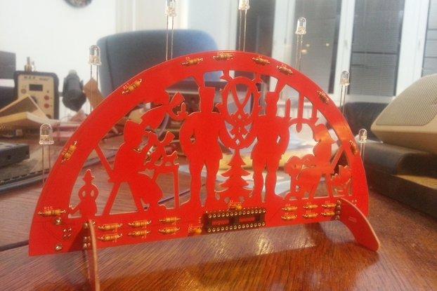 PCB Christmas Arche/PCB Schibbogen (soldering Kit)