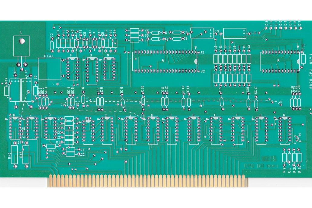 Altair MITS 8800 CPU Card 8080A S-100 S100 replica 1