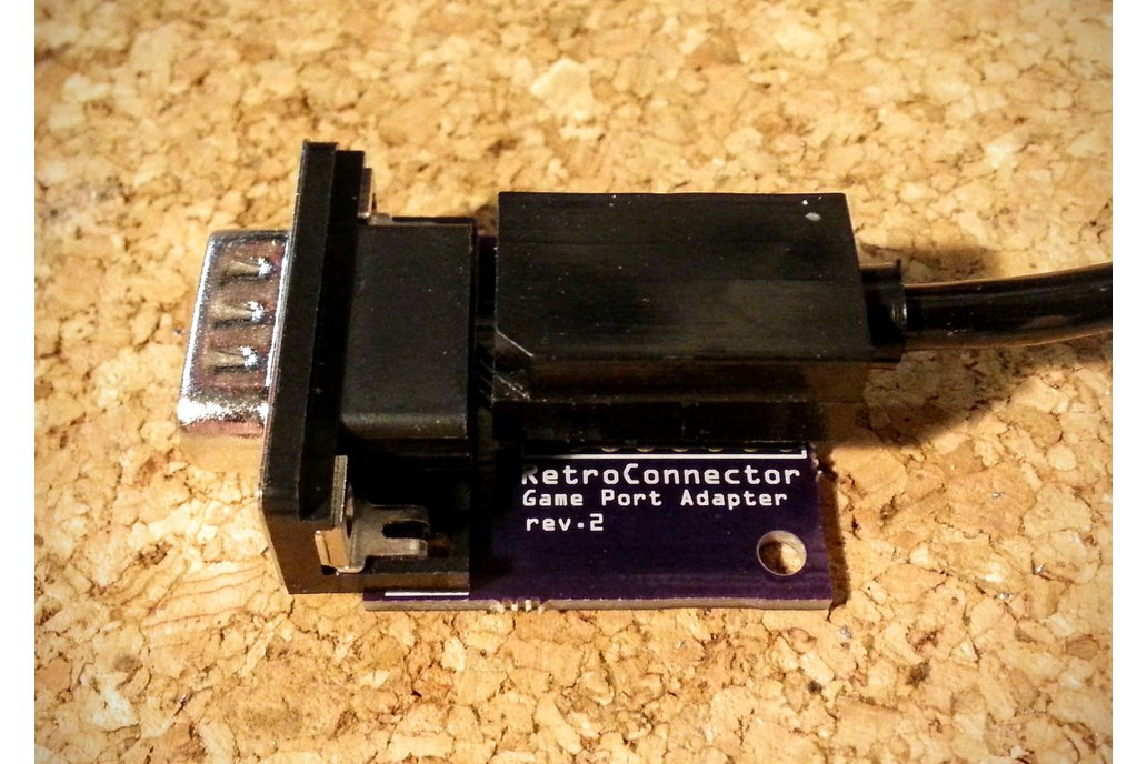 Joystick adapter for Apple IIc 4