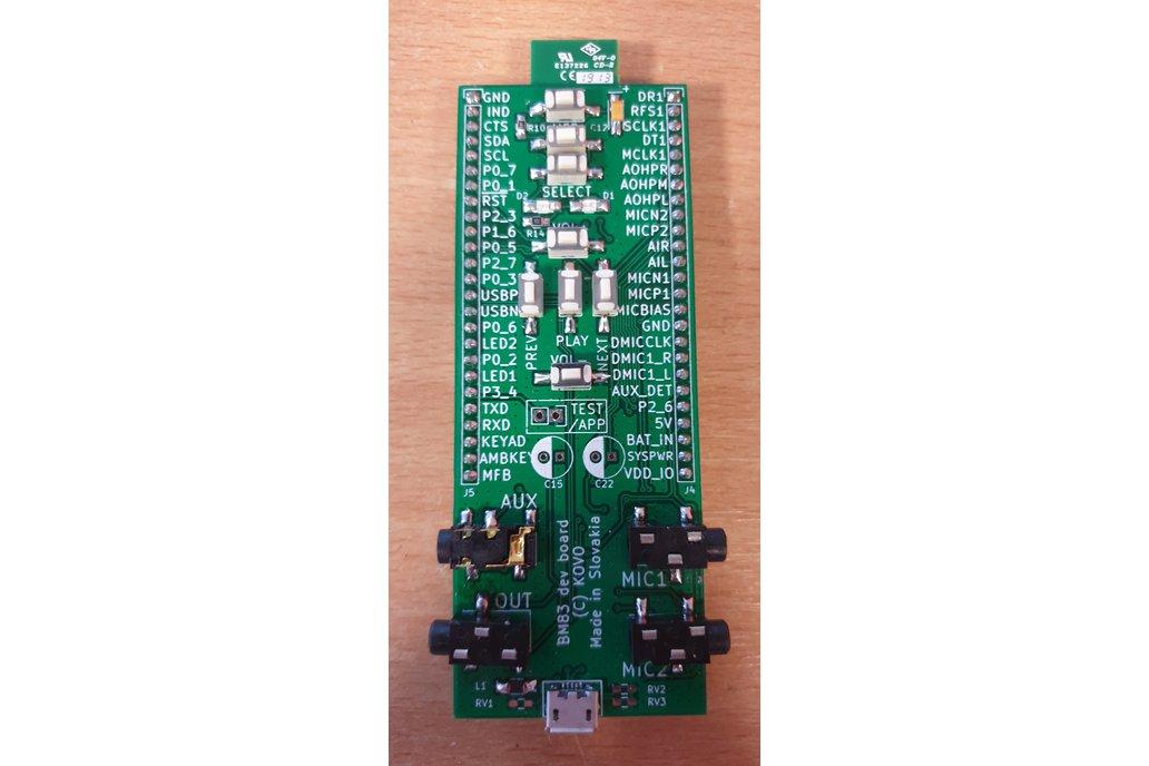 BM83 breadboard adapter 1