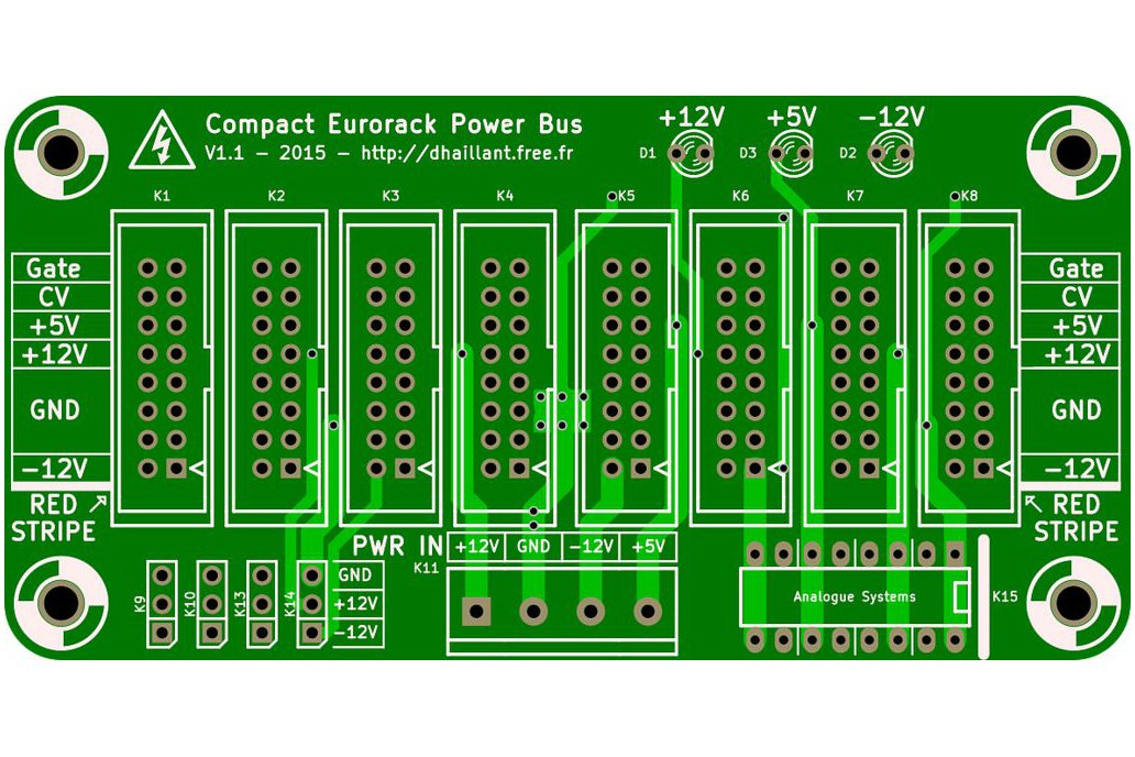 Eurorack Compact Power Bus 5