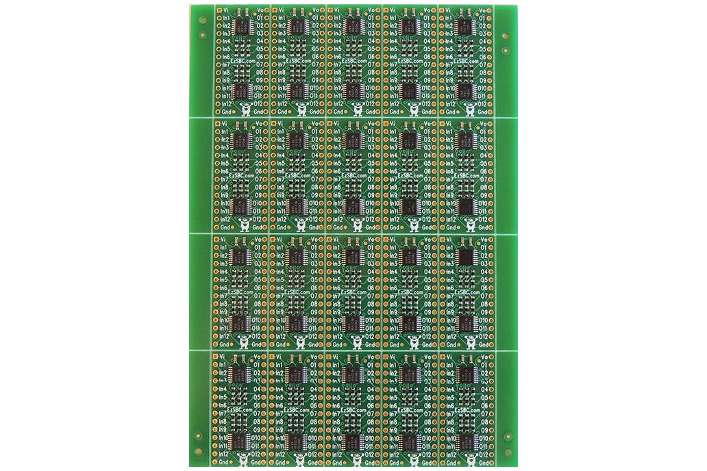 12 Channel Level Shifter and Buffer 6