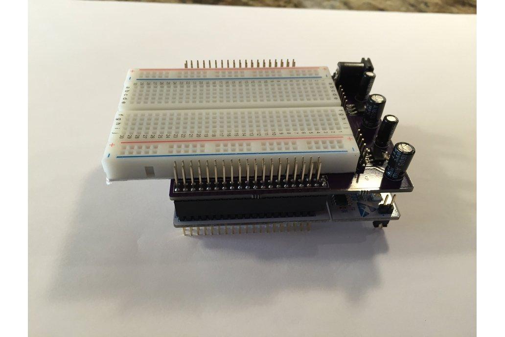 STM32 Nucleo Morpho Expansion Breadboard 4