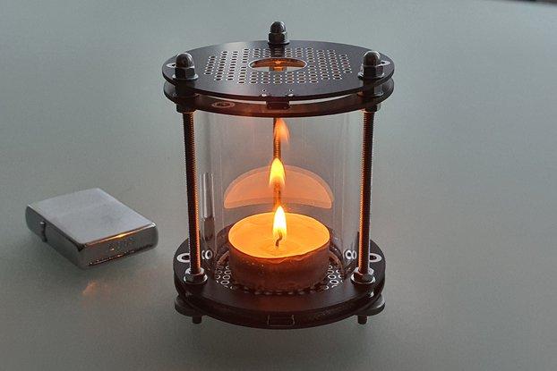 PCB Bottle-Lantern USB or Candle