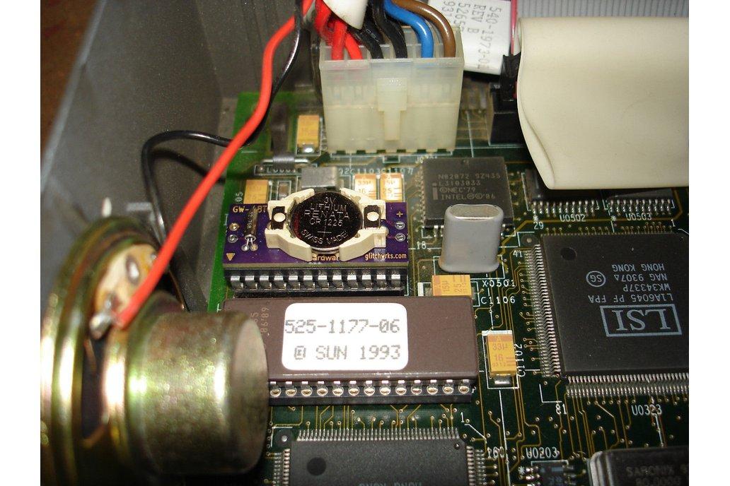 GW-48T02-1 MK48T02 NVRAM Replacement 2