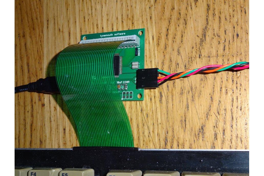 Amiga 600  / 1200 USB keyboard conversion kit 5
