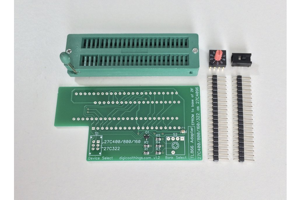 TL866 Adapter for 27C322 & 27C400 /800 /160 EPROMs 1