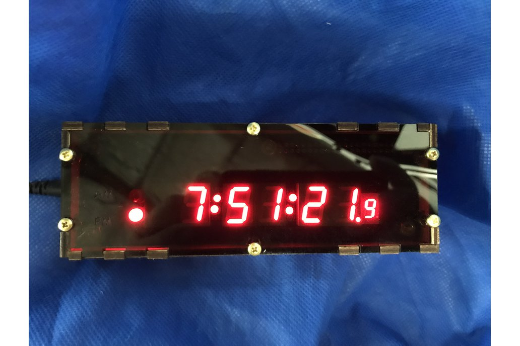 Raspberry Pi Zero Clock 1