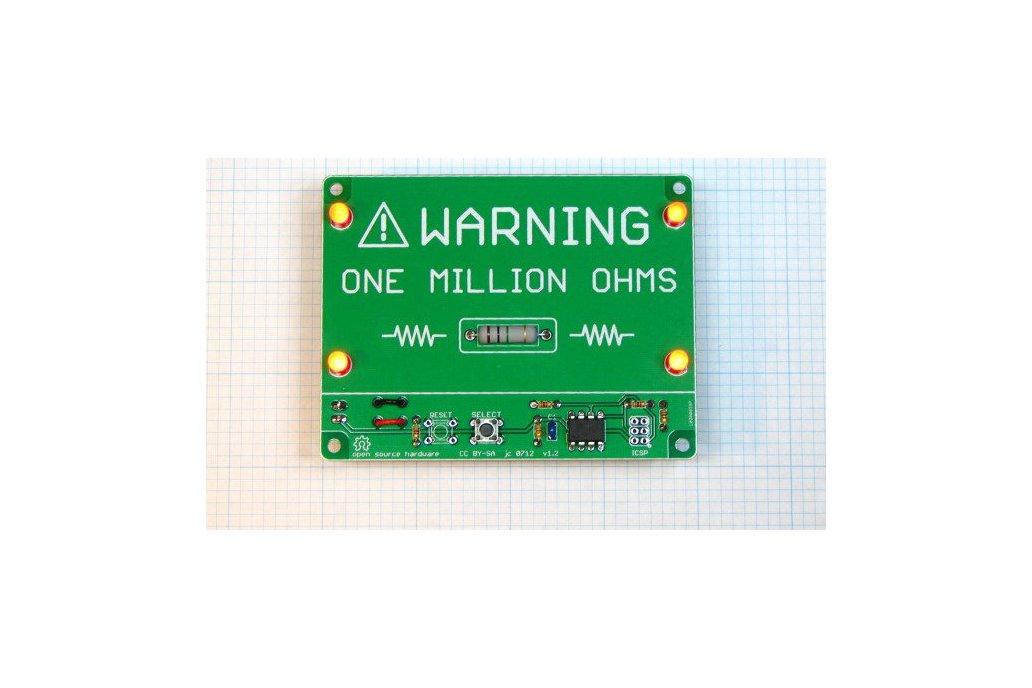 """One Million Ohms"" Microcontroller Project Kit 1"