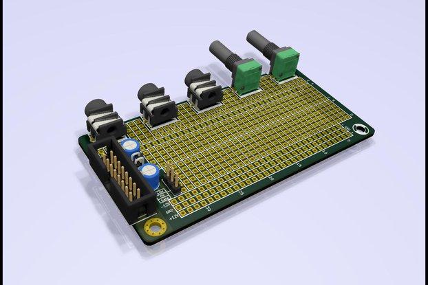 Eurorack Stripboard PCB