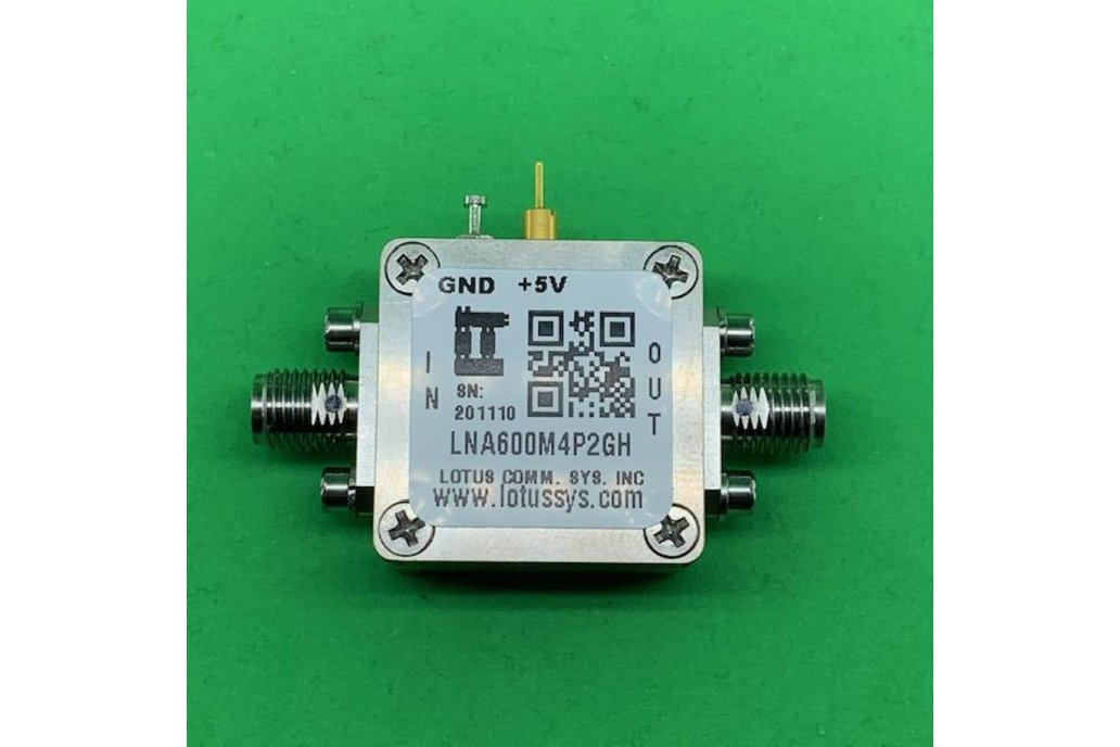 Amplifier LNA 0.67dB NF 600MHz to 4.2GHz 1