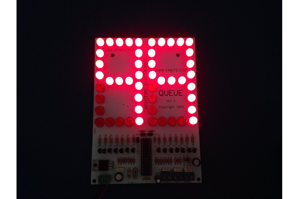 "6"" LED Scoreboard Kit - Up/Down Counter Kit 1"