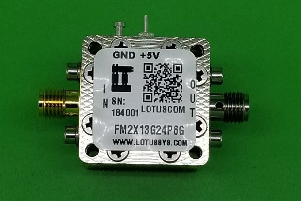 Act Freq. Multiplier X2 (OUTPUT 13G to 24.6G Hz)