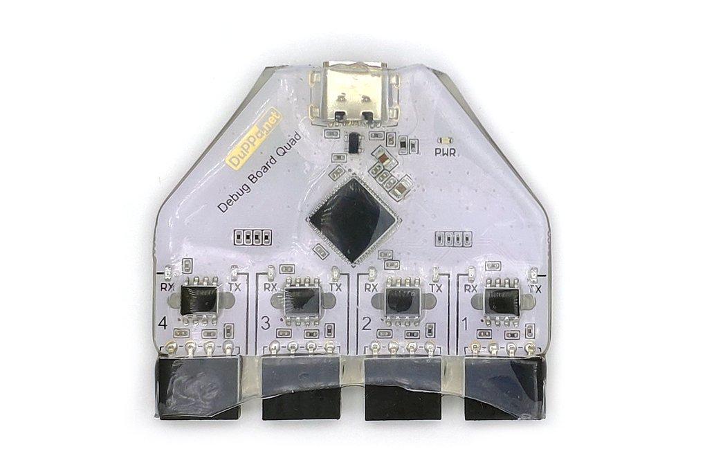 4 ports Isolated USB - UART Converter with USB-C 1