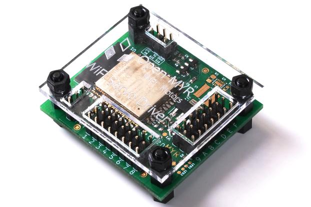 ESP32 WiFi Servo Controller