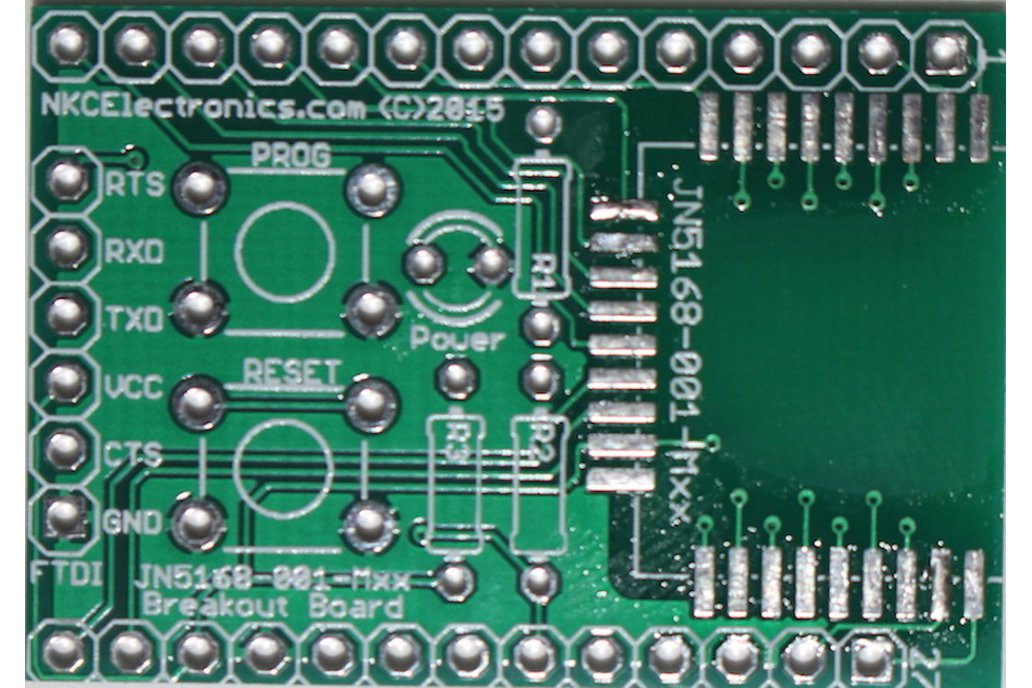 JN5168 breakout PCB KIT 2