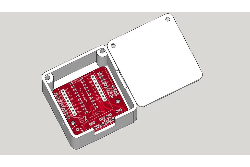 Wemos D1 Mini ESP8266 LED & Level Shifter Shield 4