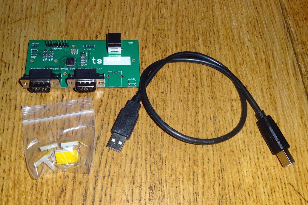 USB conversion kit for Amiga 500 keyboard 4