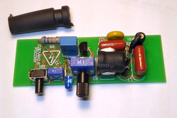 Mini Power Regulator with heat-up Timer