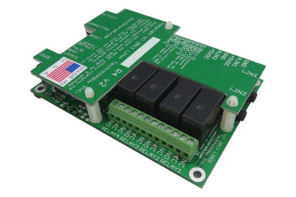 FargoR4ADI Ethernet I/O Relay Control Board, POE 1