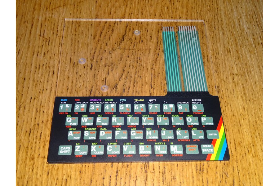 Keyboard Overlays for ZX Max 48