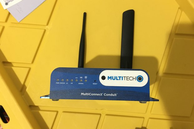 Multitech Conduit Gateway with LoRa 915MHz card