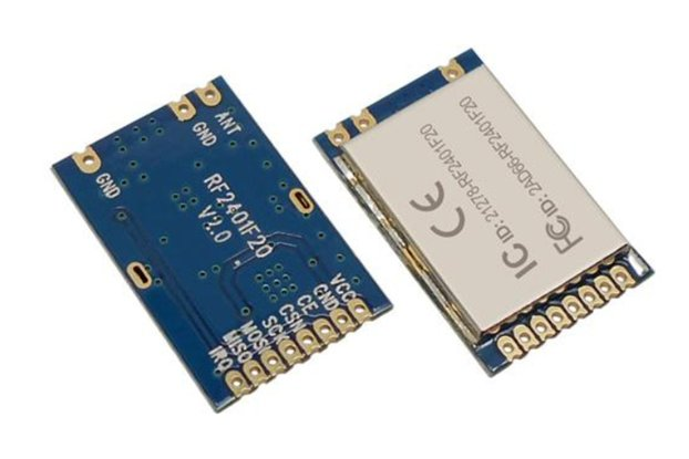 RF2401F20 2.4G Wireless 2400-2525MHz RF Module