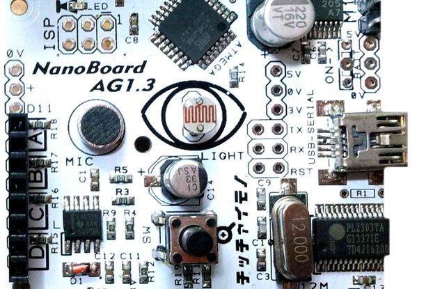 NanoBoard   Scratch sensor board with motor driver