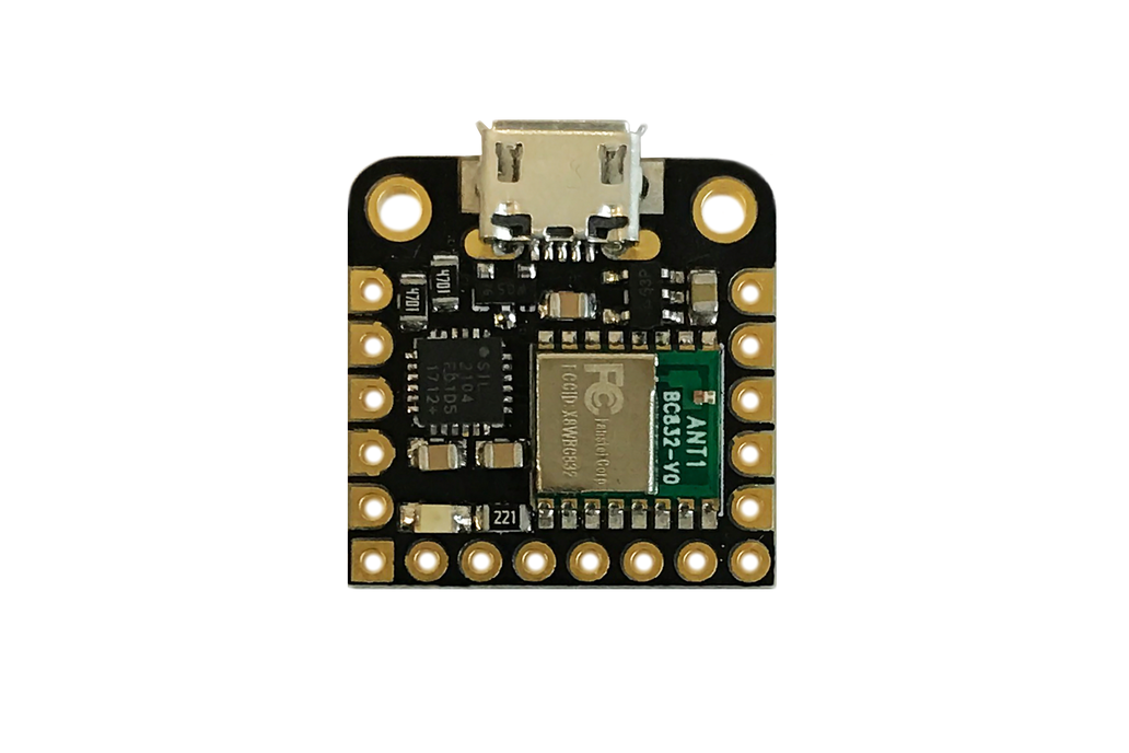 Microcontroller: Arduino-compatible + Built-in BLE 3