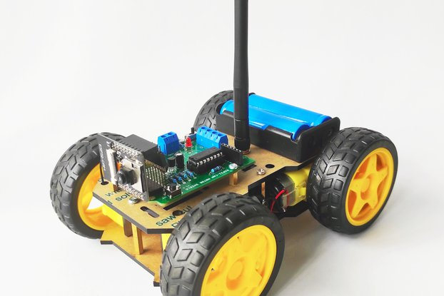 WiFi Robot Car Camera Kit - ESP32-Cam