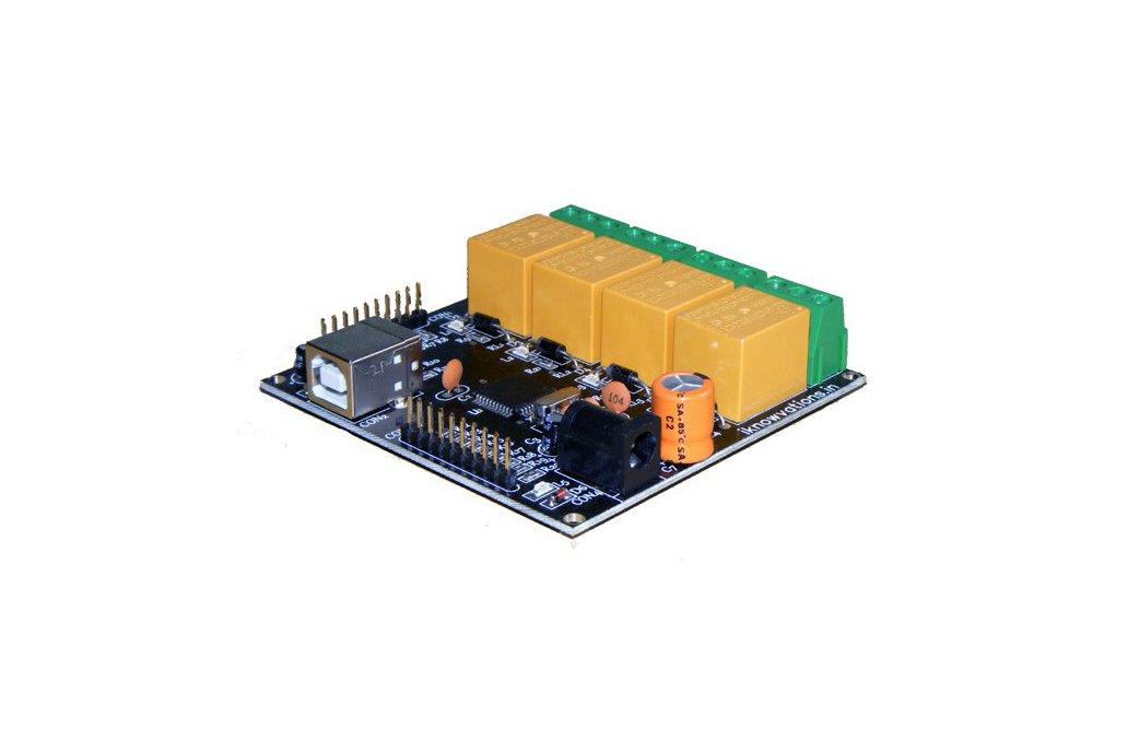 U452 USB based Relay & DAQ card 1