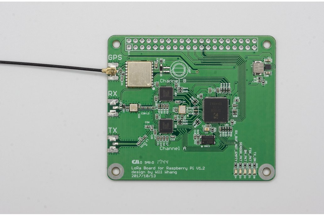 SX1308 Raspberry Pi LoRa Gateway Board 3